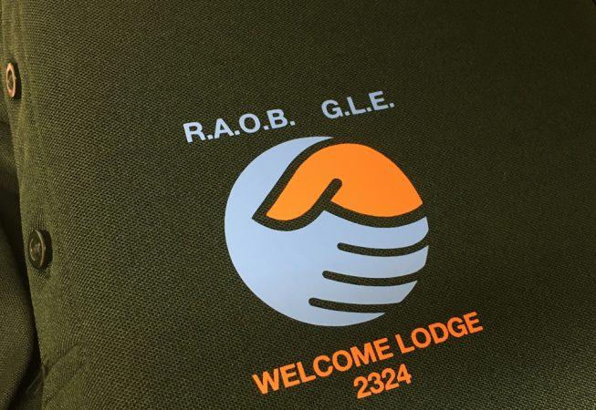Welcome lodge polo shirt