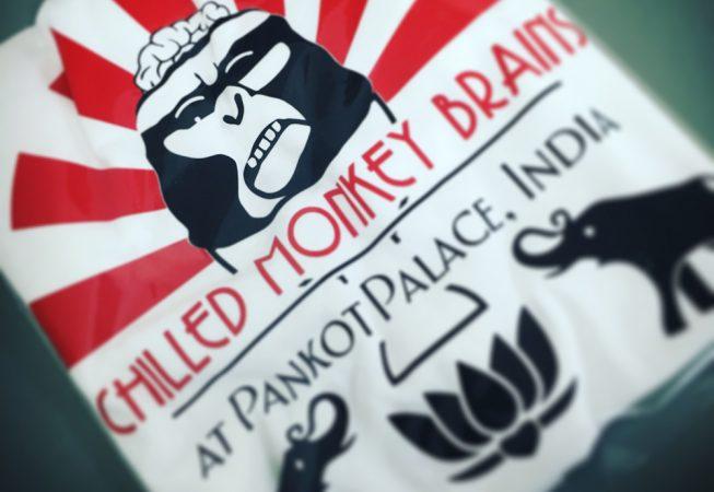 Chilled Monkey tshirt print
